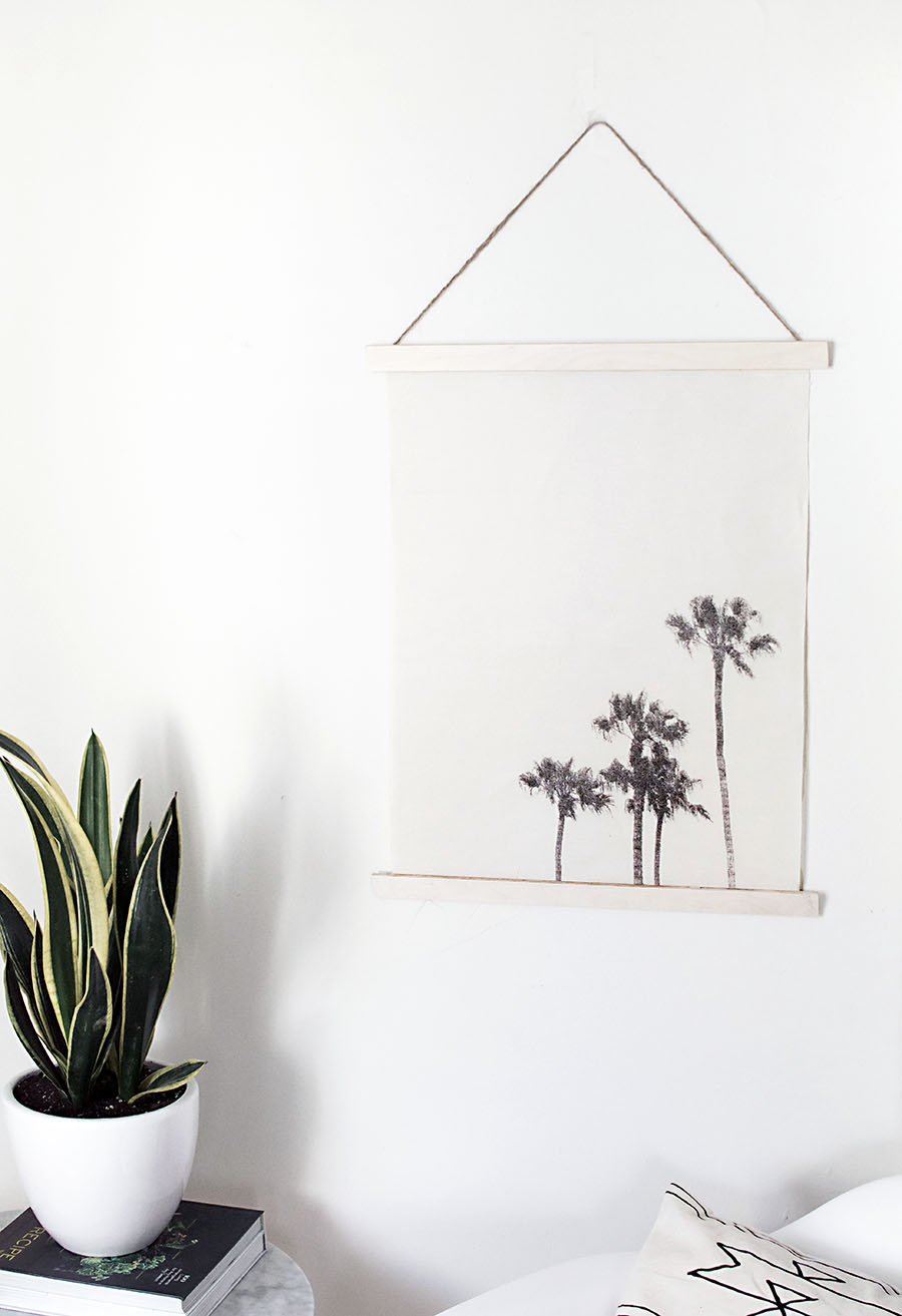 DIY- Image transfer wall hanging