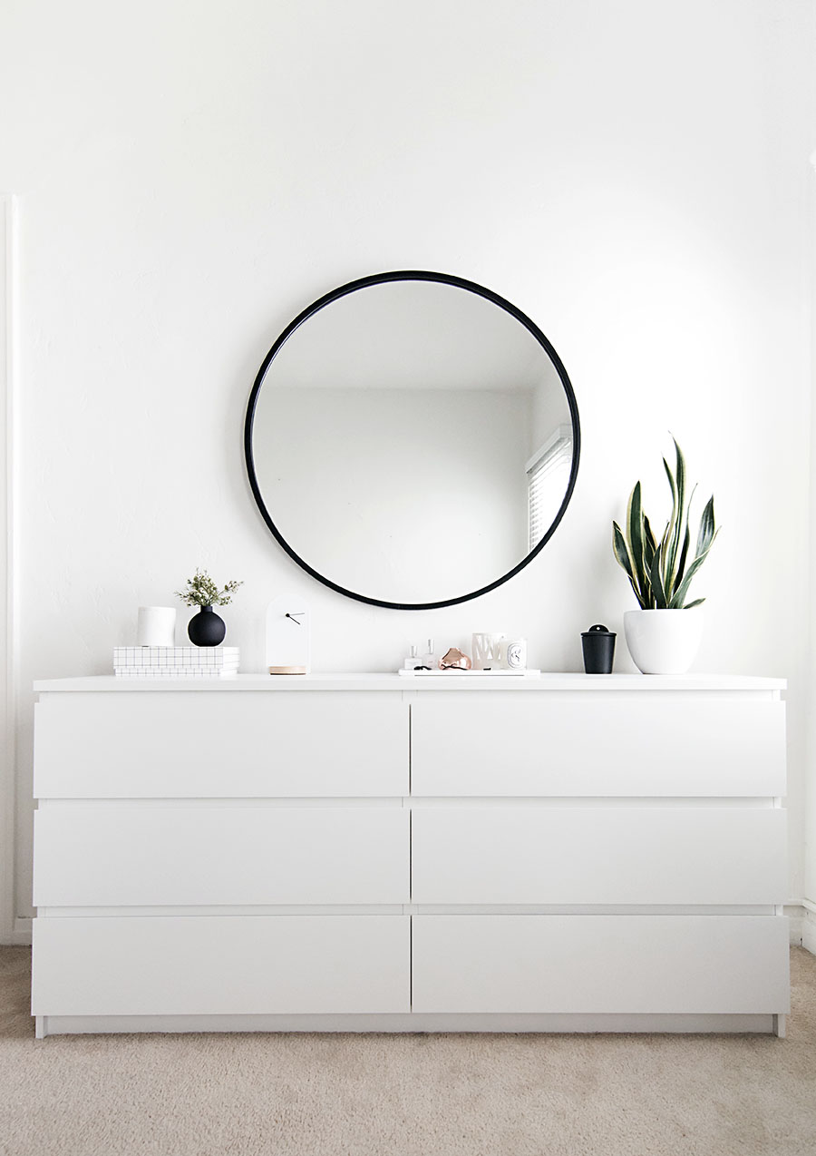 Ikea Malm Dresser In White Homey Oh My