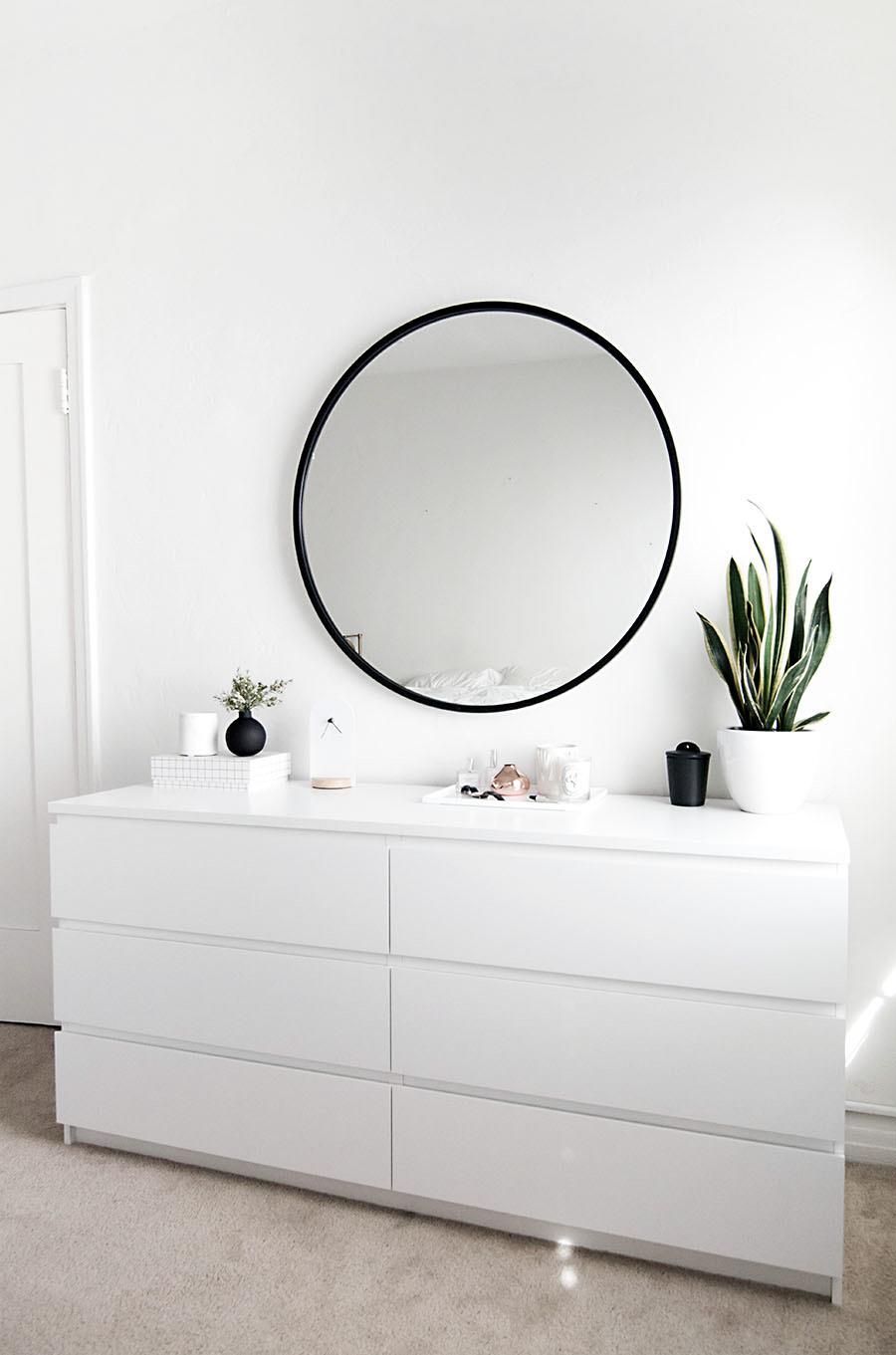Ikea Malm White Dresser 3 Homey Oh My