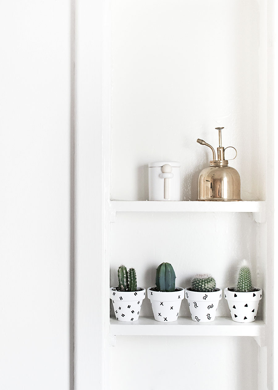 Patterned Planters DIY
