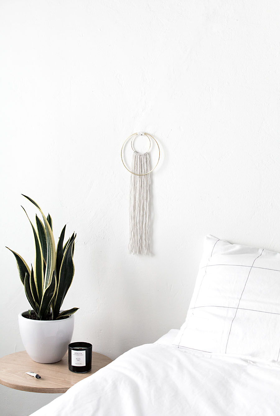 DIY- Double Ring Wall Hanging