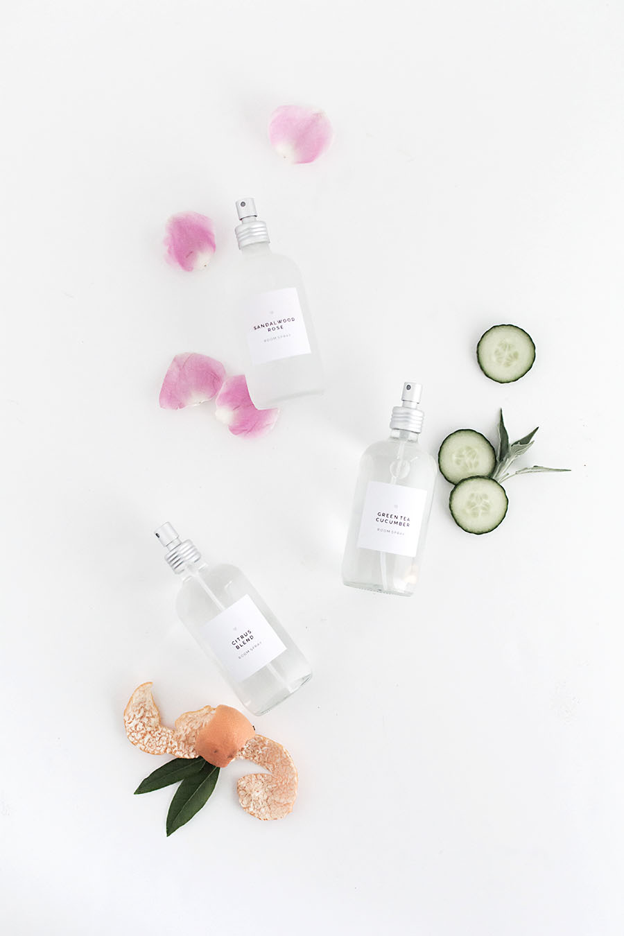 Diy Room Sprays With Printable Labels Homey Oh My