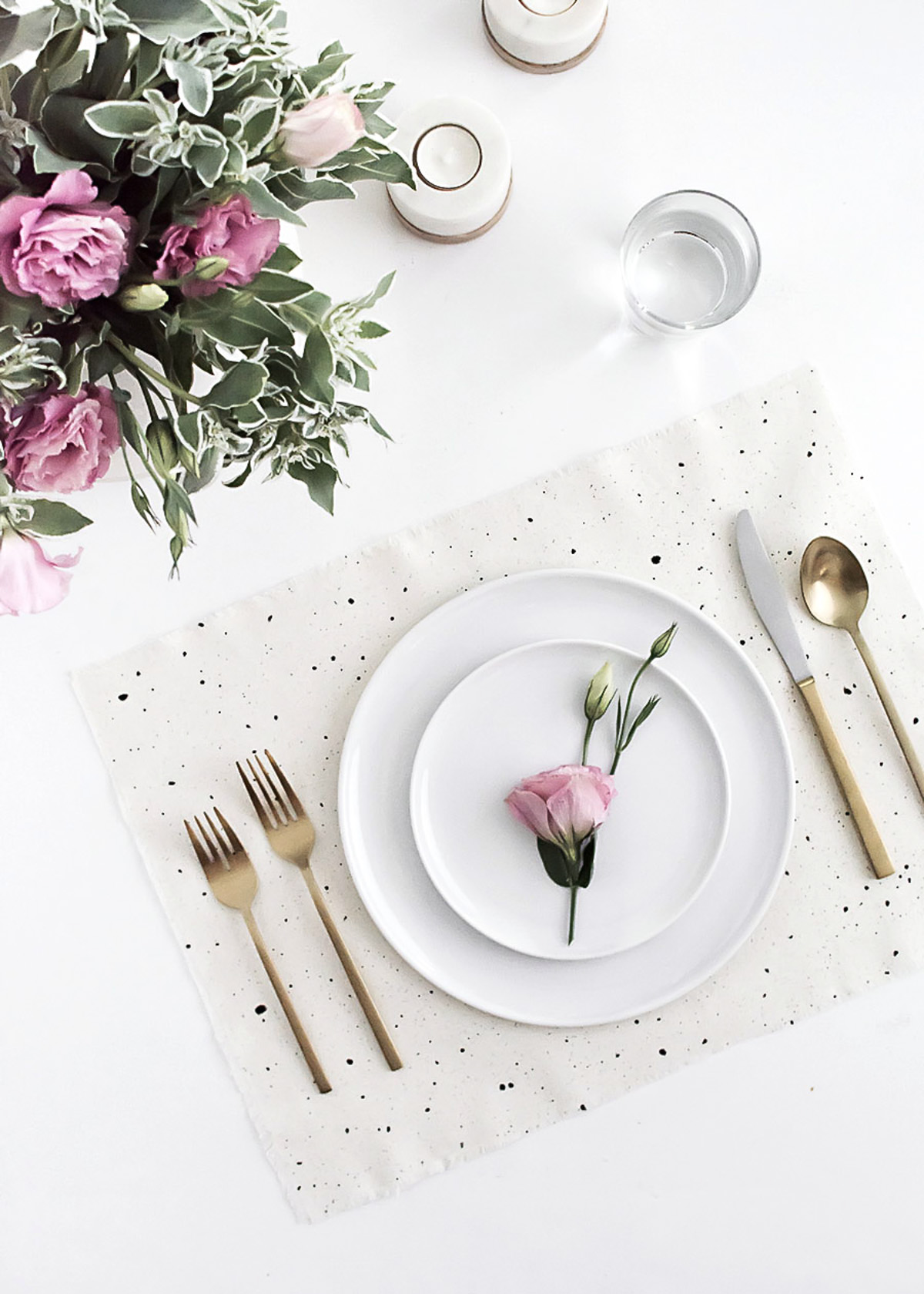 DIY Speckled Placemats-2