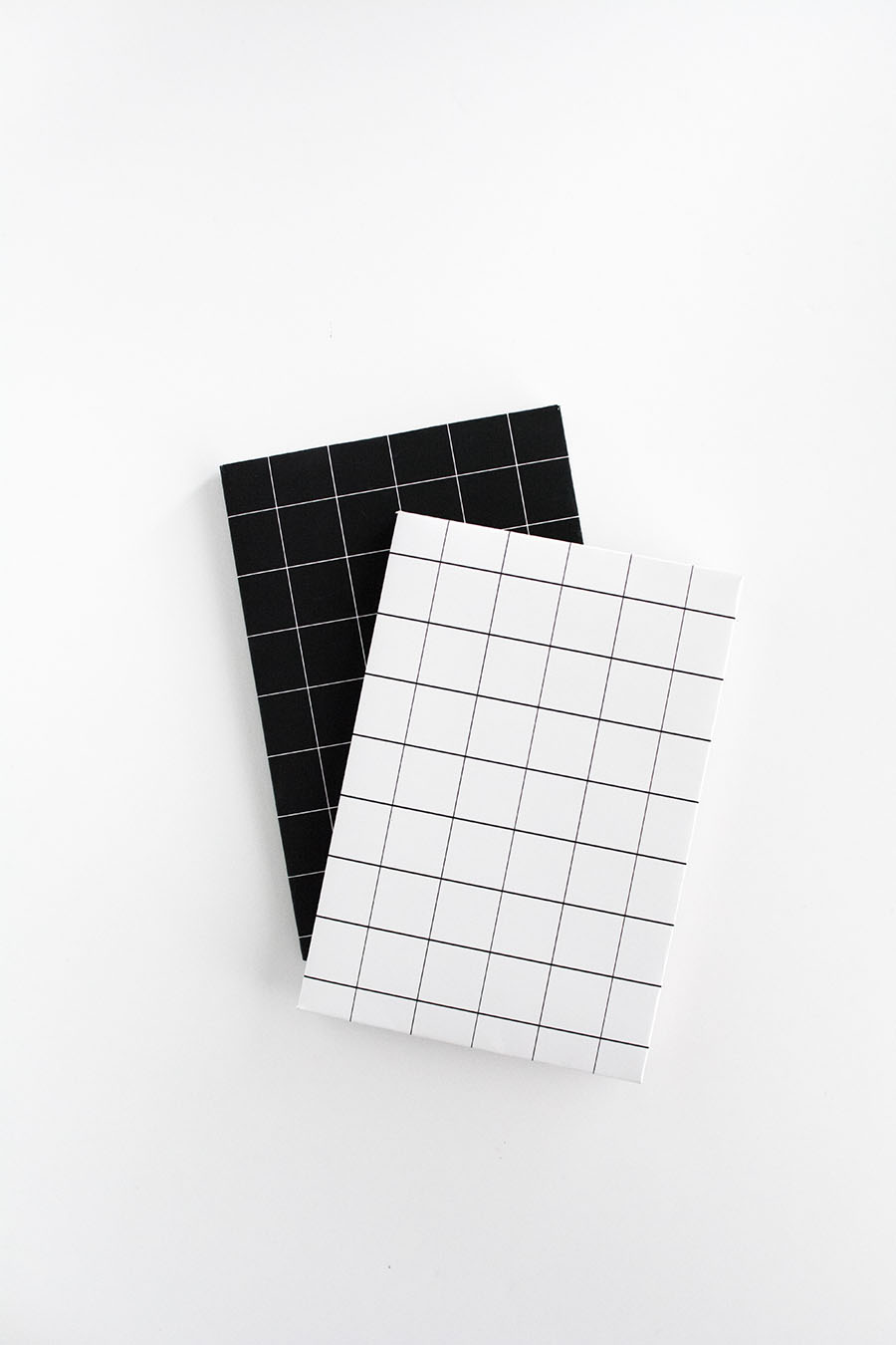 Diy Grid Notebook Covers Free Printable Homey Oh My