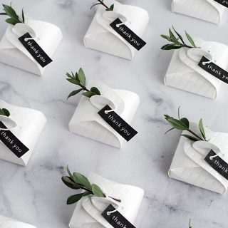 Diy Wedding Favor Bo