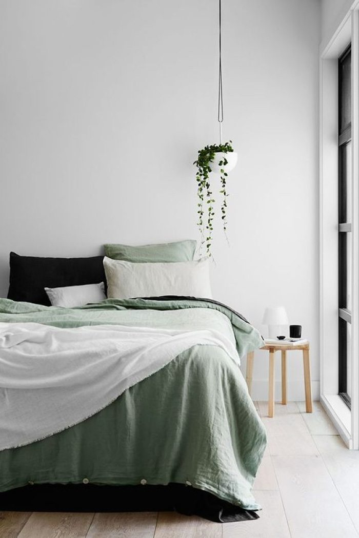 Sage Green Bed Linen Homey Oh My