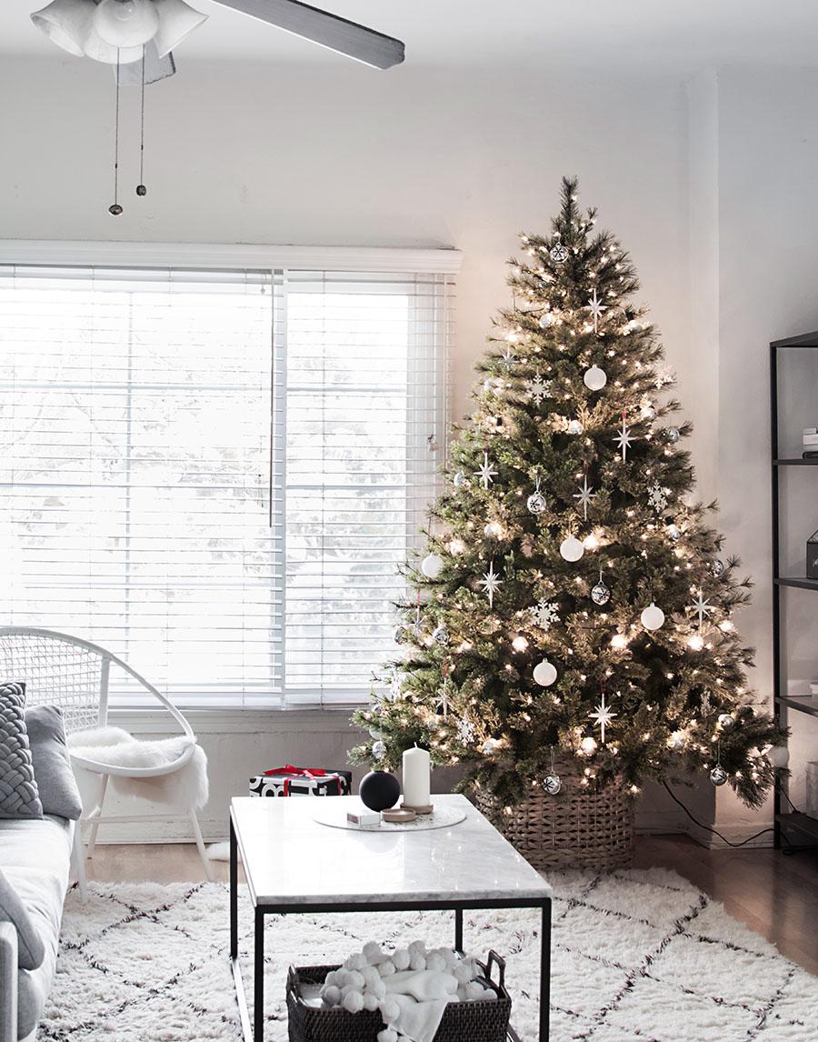 Modern Minimal Christmas Tree Homey Oh My