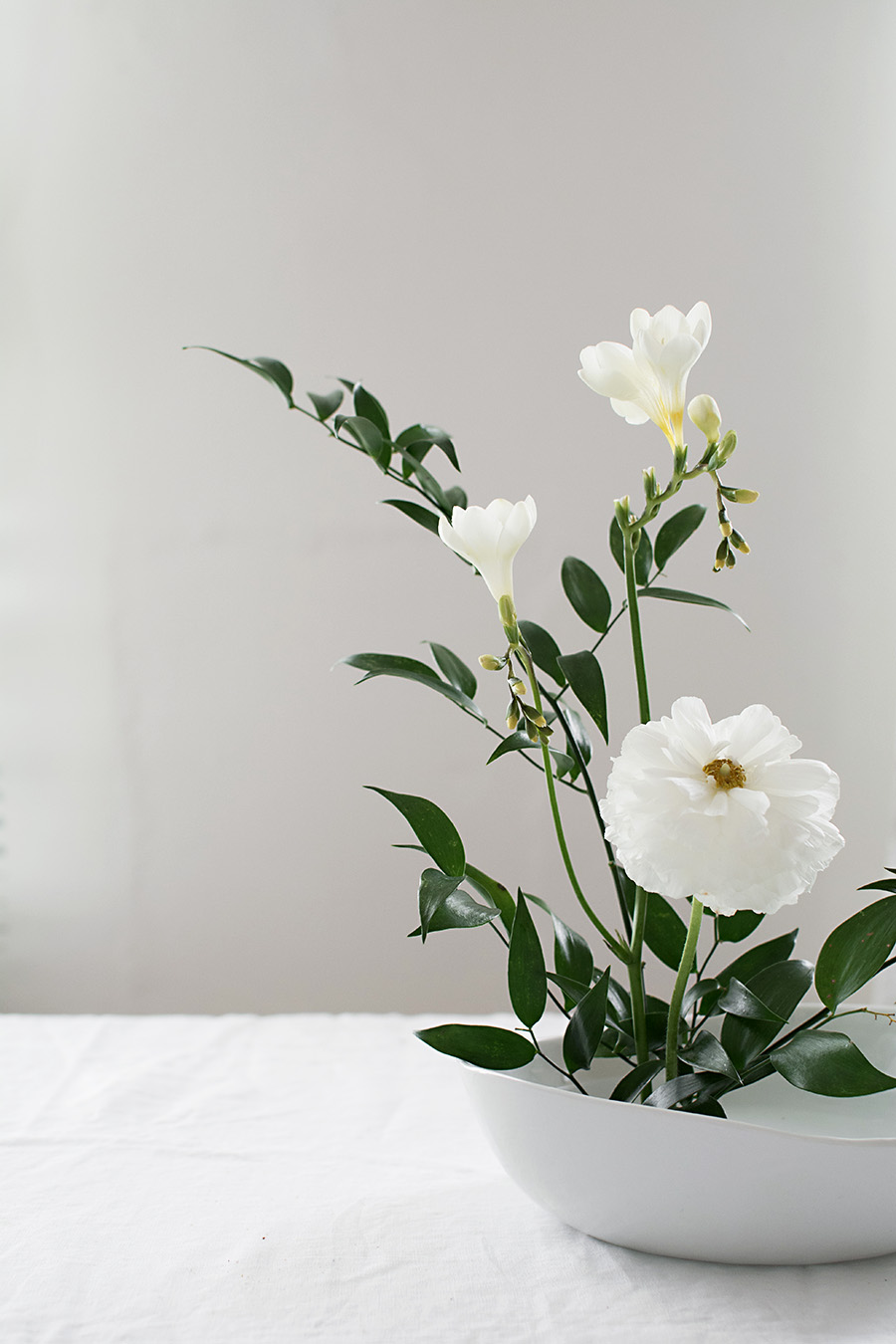 How To Make A Basic Ikebana Floral Arrangement Homey Oh My