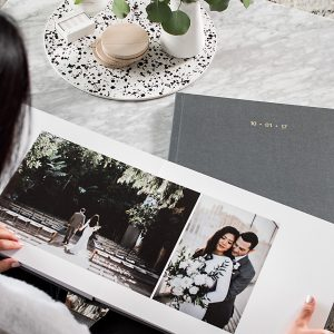 Our Wedding Photo Albums with Artifact Uprising + Giveaway