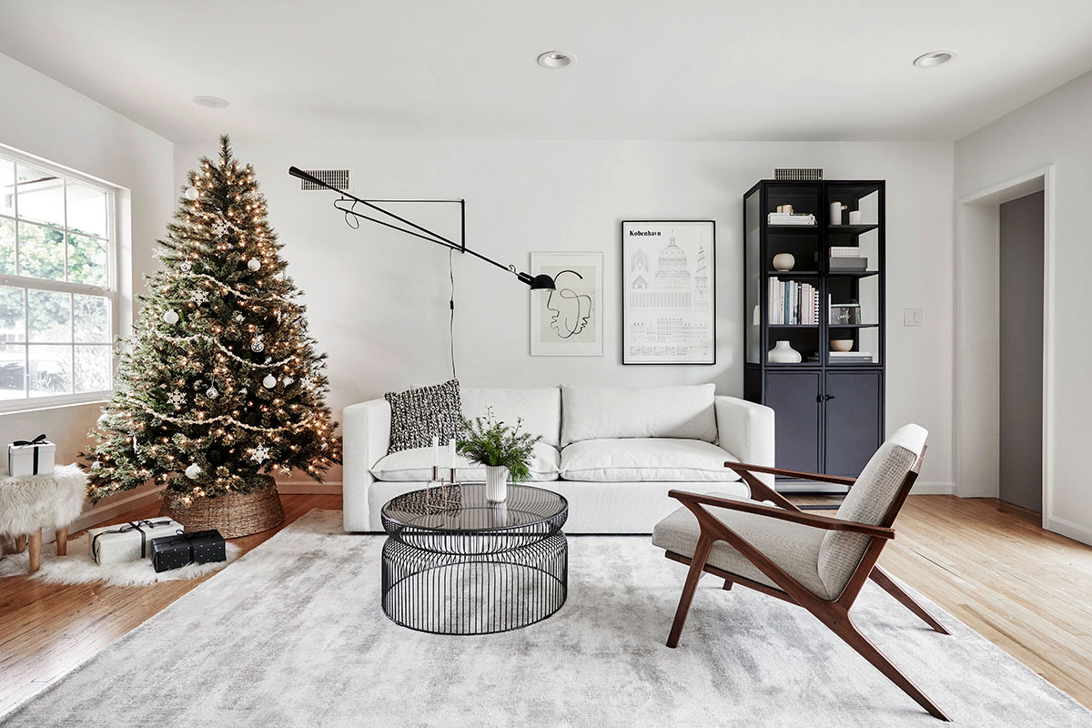 Our Holiday Living Room Or Sitting Reveal Homey Oh My