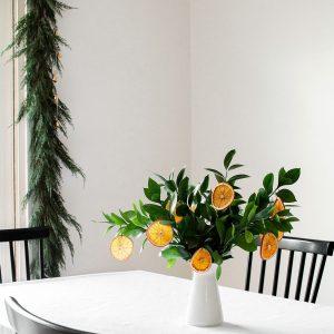DIY Dried Orange Slice Ornaments