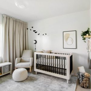 Modern Minimal Gender-Neutral Nursery